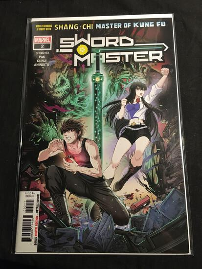 Sword Master #2 Comic Book from Amazing Collection