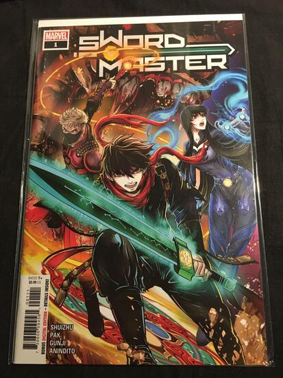 Sword Master #1 Comic Book from Amazing Collection