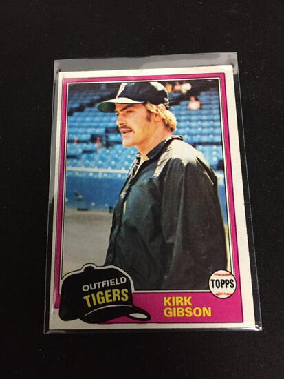 1981 Topps #315 KIRK GIBSON Tigers ROOKIE Baseball Card