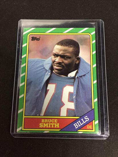 1986 Topps #389 BRUCE SMITH Bills ROOKIE Football Card
