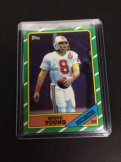 1986 Topps #374 STEVE YOUNG 49ers ROOKIE Football Card