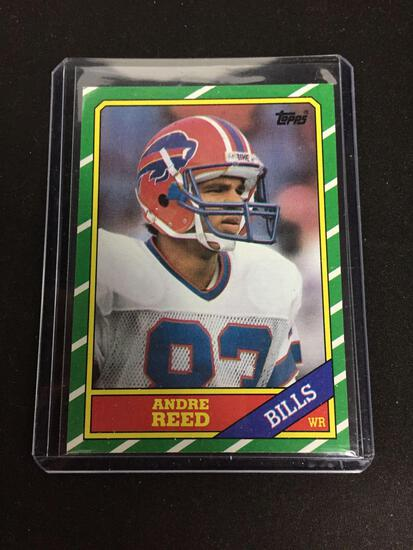 1986 Topps #388 ANDRE REED Bills ROOKIE Football Card