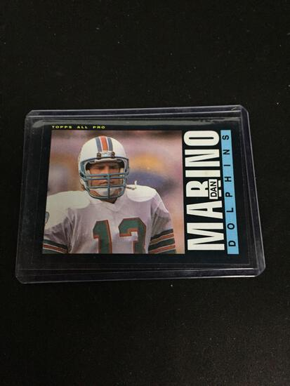 1985 Topps #314 DAN MARINO Dolphins Vintage Football Card
