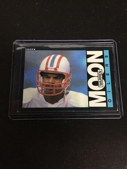 1985 Topps #251 WARREN MOON Oilers ROOKIE Football Card