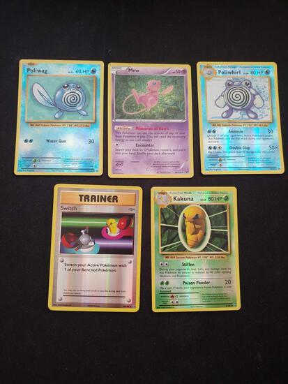 Pokemon lot of 5