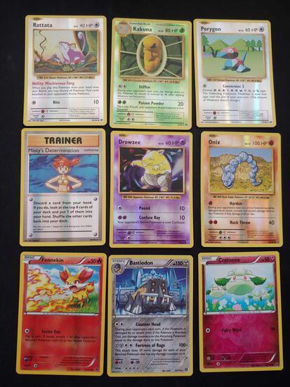 Pokemon holo lot of 9