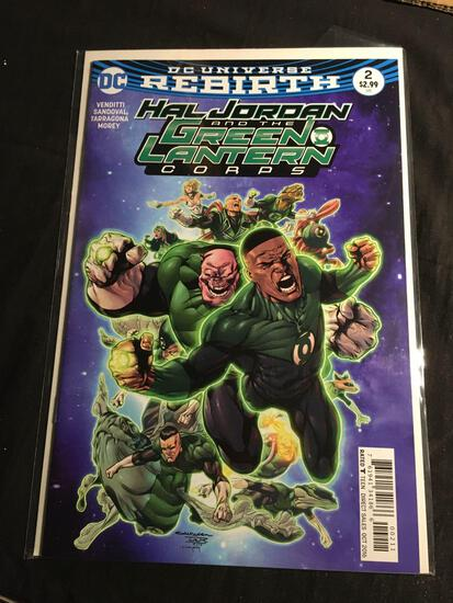 Hal Jordan And The Green Lantern Corps #2 Comic Book from Amazing Collection
