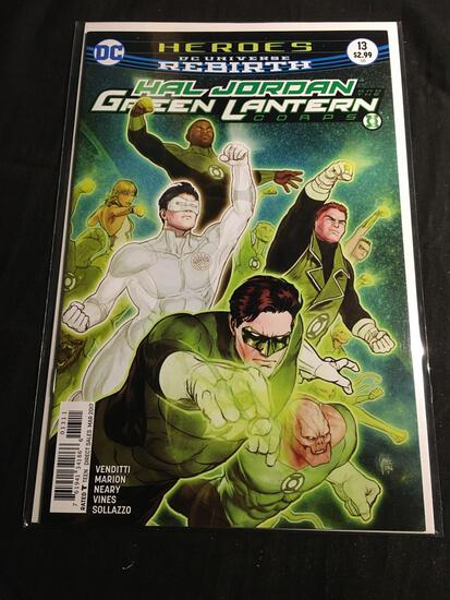 Hal Jordan And The Green Lantern Corps #13 Comic Book from Amazing Collection
