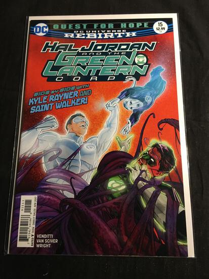 Hal Jordan And The Green Lantern Corps #15 Comic Book from Amazing Collection