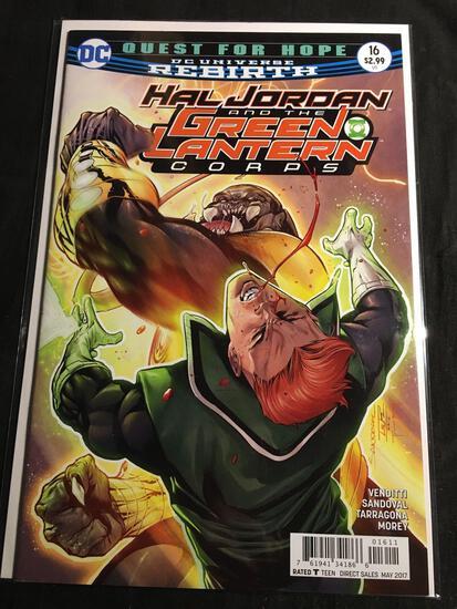 Hal Jordan And The Green Lantern Corps #16 Comic Book from Amazing Collection