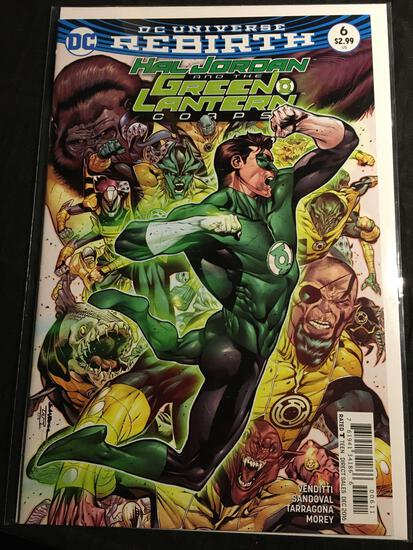 Hal Jordan And The Green Lantern Corps #6 Comic Book from Amazing Collection