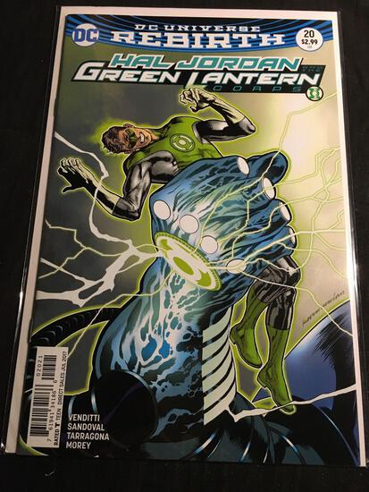 Hal Jordan And The Green Lantern Corps #20B Comic Book from Amazing Collection