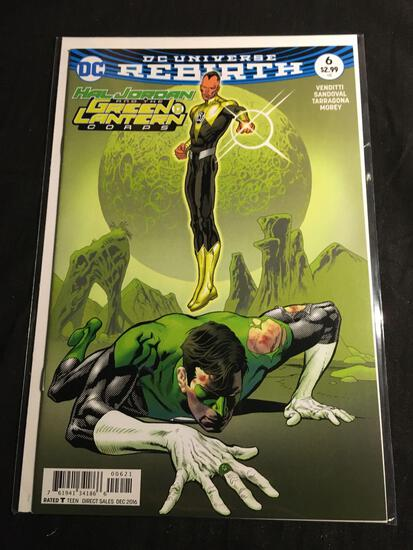Hal Jordan And The Green Lantern Corps #6B Comic Book from Amazing Collection