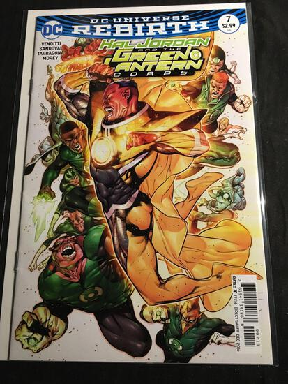 Hal Jordan And The Green Lantern Corps #7 Comic Book from Amazing Collection