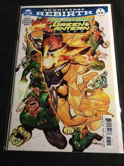 Hal Jordan And The Green Lantern Corps #7 Comic Book from Amazing Collection B