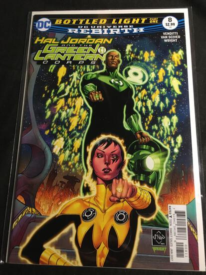 Hal Jordan And The Green Lantern Corps #8 Comic Book from Amazing Collection