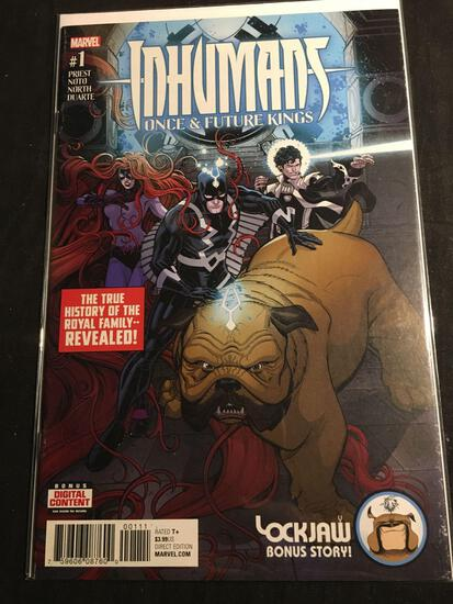 Inhumans Once & Future Kings #1 Comic Book from Amazing Collection