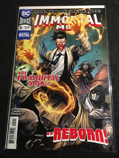The Immortal Men #5 Comic Book from Amazing Collection