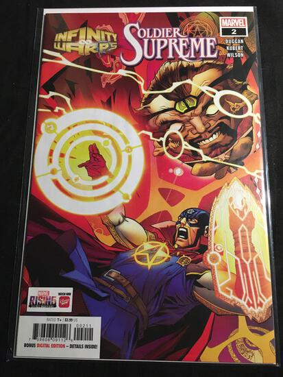 Infinity Warps Soldier Supreme #2 Comic Book from Amazing Collection