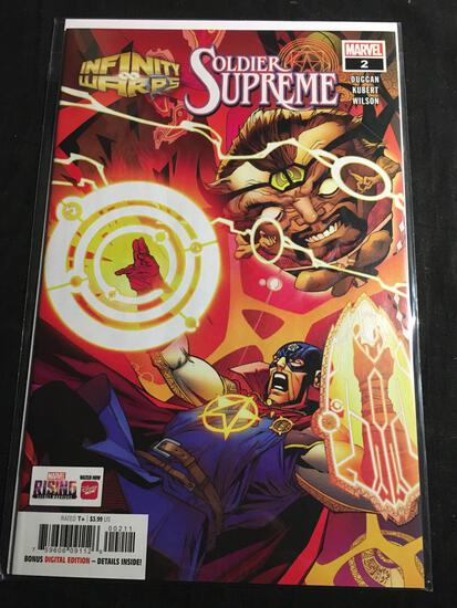 Infinity Warps Soldier Supreme #2 Comic Book from Amazing Collection B