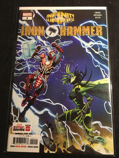 Infinity Warps Iron Hammer #2 Comic Book from Amazing Collection