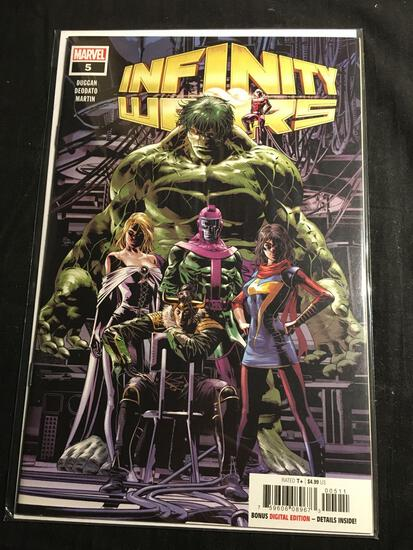 Infinity Wars #5 Comic Book from Amazing Collection