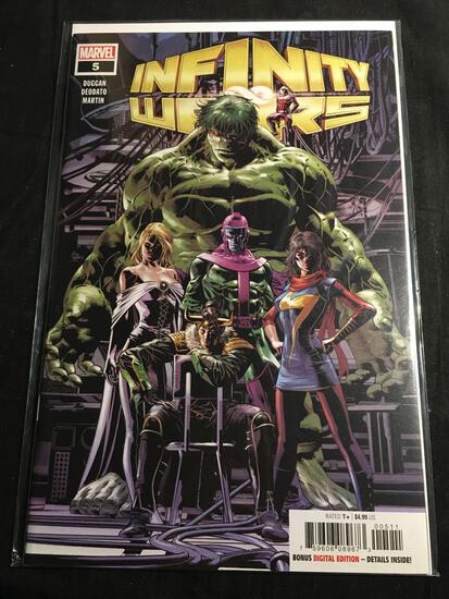 Infinity Wars #5 Comic Book from Amazing Collection B