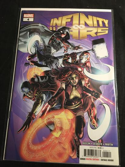 Infinity Wars #4 Comic Book from Amazing Collection