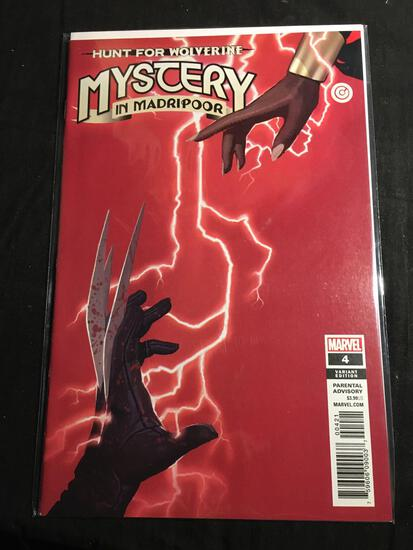 Hunt For Wolverine Mystery In Madripoor #4 Variant Edition Comic Book from Amazing Collection