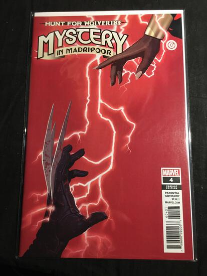 Hunt For Wolverine Mystery In Madripoor #4 Variant Edition Comic Book from Amazing Collection B