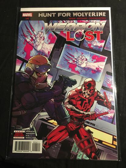 Hunt For Wolverine Weapon Lost #4 Comic Book from Amazing Collection