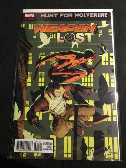 Hunt For Wolverine Weapon Lost #4 Variant Edition Comic Book from Amazing Collection B