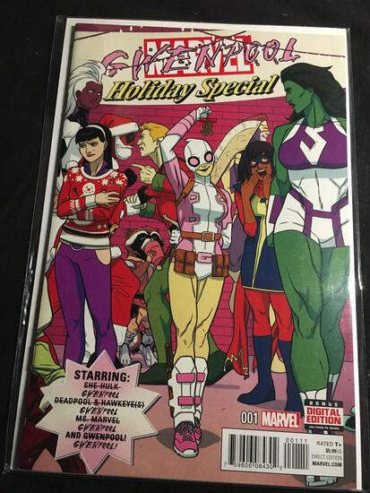 Gwenpool Holiday Special #1 Comic Book from Amazing Collection
