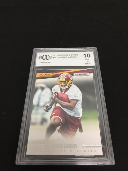 BCCG Graded Mint 10 - 2012 Rookies & Stars #151 Alfred Morris RC