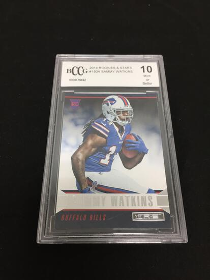 BCCG Graded Mint 10 - 2014 Rookies & Stars #180A Sammy Watkins RC