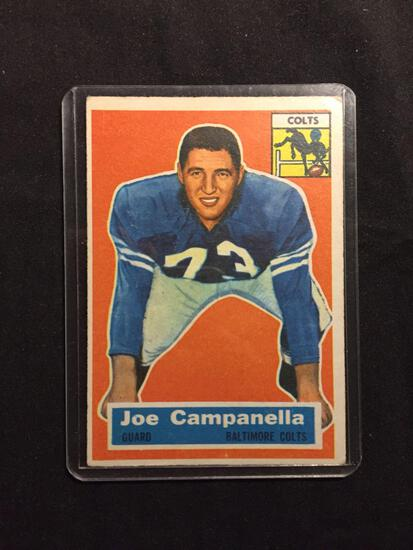 1956 Topps #24 JOE CAMPANELLA Colts Vintage Football Card