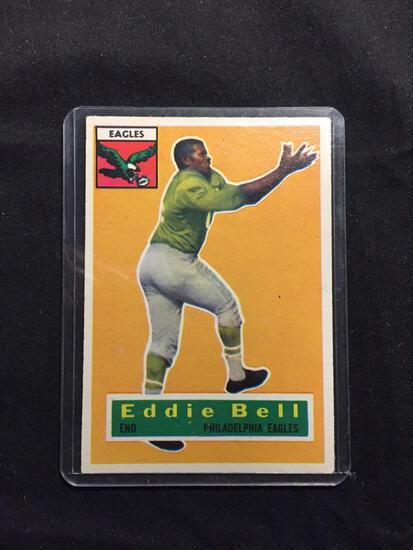 1956 Topps #4 EDDIE BELL Eagles Vintage Football Card