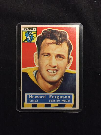 1956 Topps #31 HOWARD FERGUSON Packers Vintage Football Card