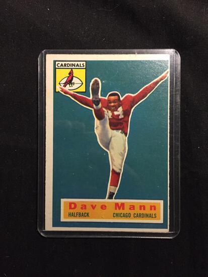 1956 Topps #34 DAVE MANN Cardinals Vintage Football Card