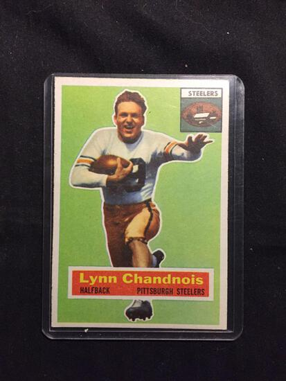 1956 Topps #39 LYNN CHANDNOIS Steelers Vintage Football Card