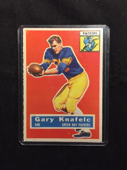 1956 Topps #43 GARY KNAFELC Packers Vintage Football Card