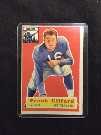 1956 Topps #53 FRANK GIFFORD Giants Vintage Football Card