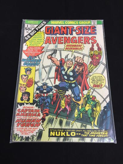 Marvel Giant-Size Avengers #1 AUG 1974