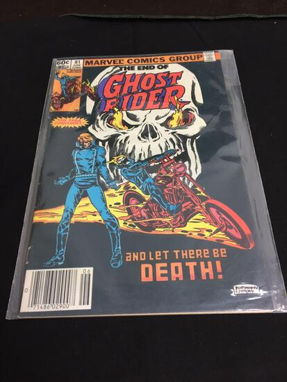 GHOST RIDER # 81 Bronze Age SCARCE LAST ISSUE NICE FINE