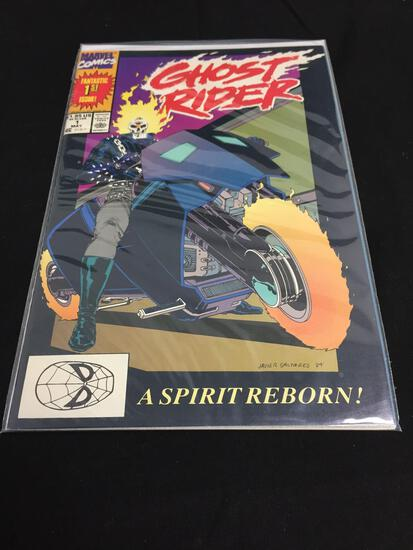Marvel Ghost Rider #1 MAY 1990 A Spirit Reborn VF/NM
