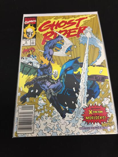 Marvel Ghost Rider #9 JAN 1991 VF/NM