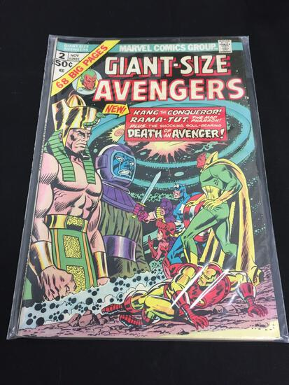 Marvel Giant -Size Avengers #2 NOV 1974
