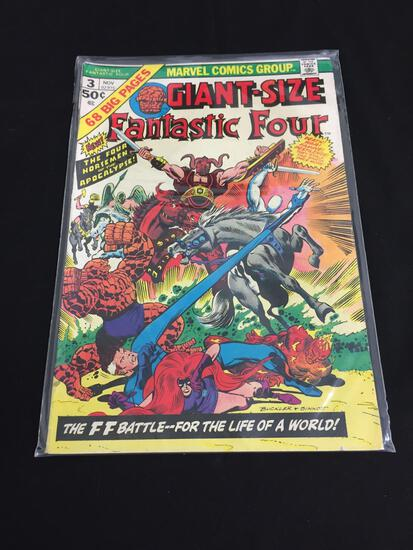 Marvel Giant-Size Fantastic Four #3 NOV 1974