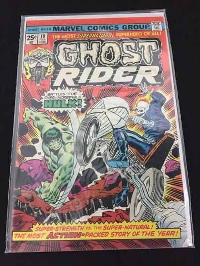 Marvel Ghost Rider #10 February 1975