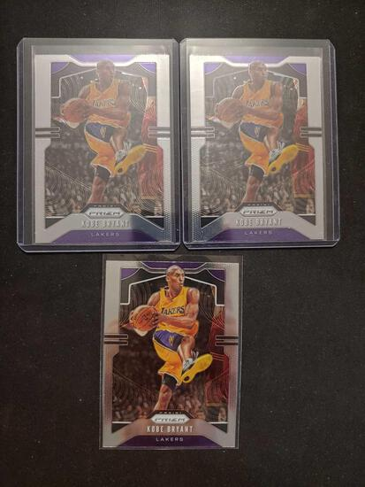 Kobe Bryant lot of 3